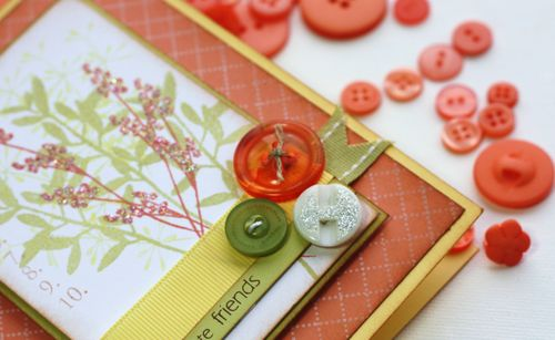 Button trio card detail