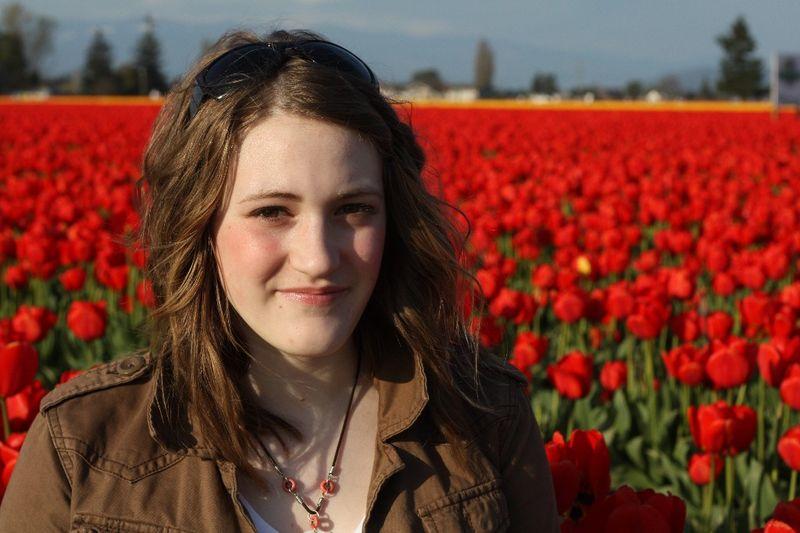 Alex red tulips