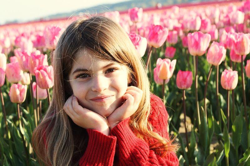 Ella pink tulips