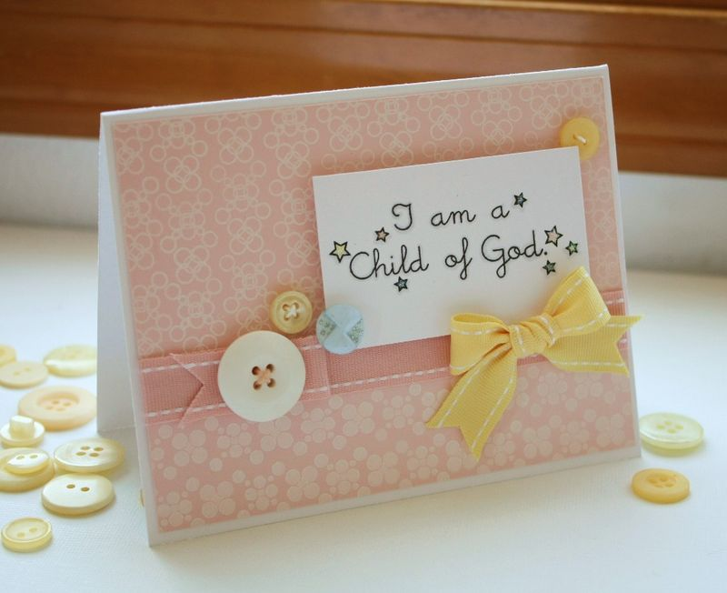 Heavenly Medley I am a Child of God card