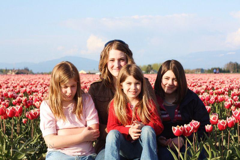 Girls in tulips copy