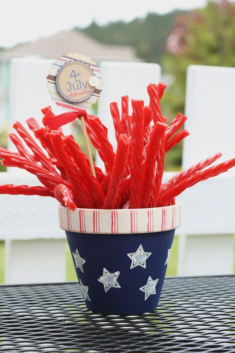 Let freedom ring BBQ straws