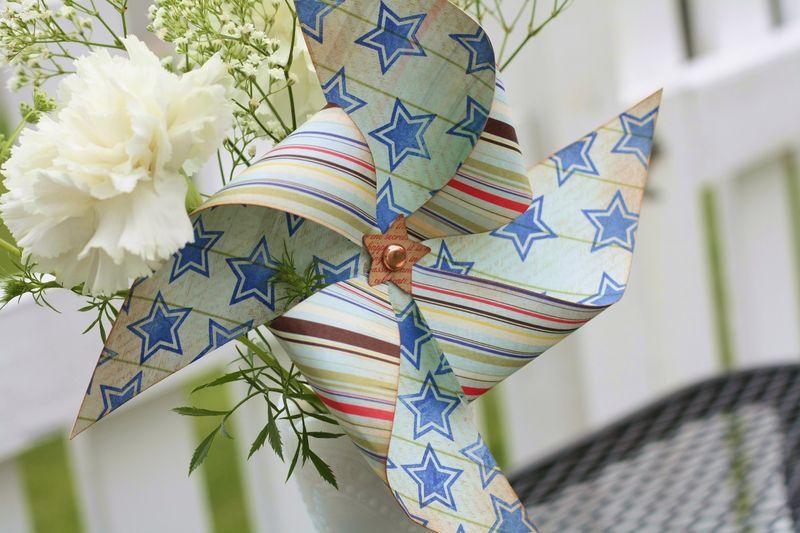 Let freedom ring bbq pinwheel detail