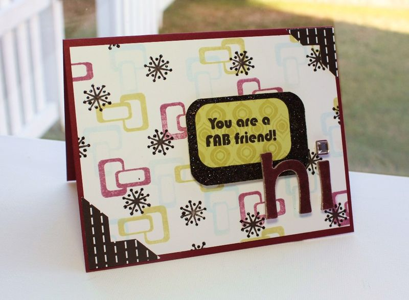 Fab Friend Card