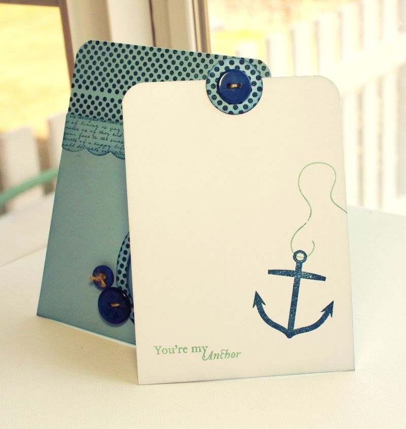 You're my Anchor card inside