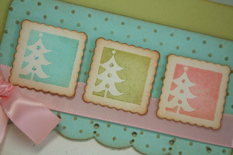 Pastel Christmas detail