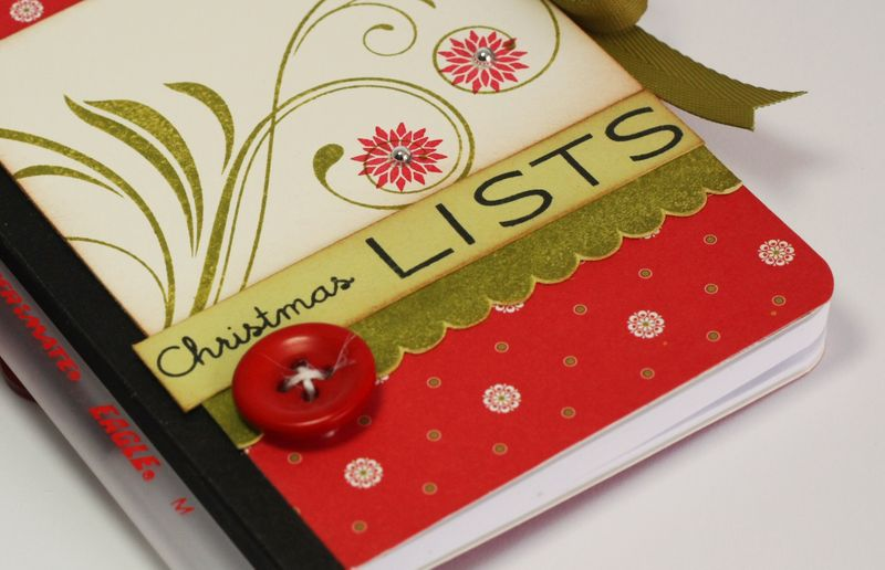 Lisa Johnson Christmas lists notebook