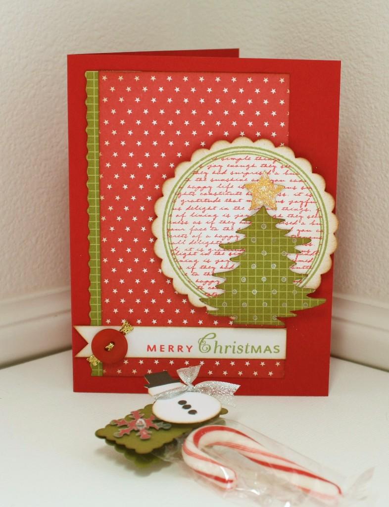Marvy Christmas card and treat