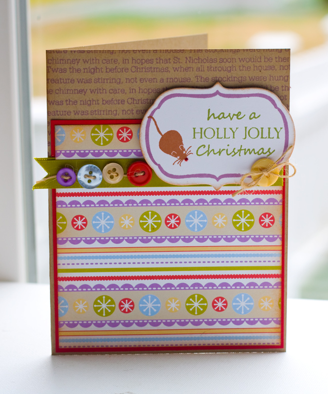 Holly-Jolly-Mouse