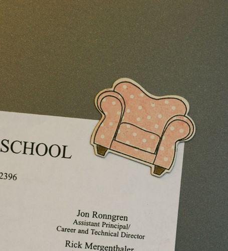 Chair-magnet